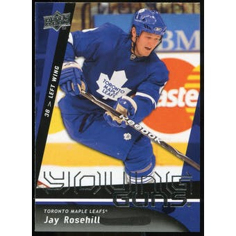 2009/10 Upper Deck #216 Jay Rosehill YG RC