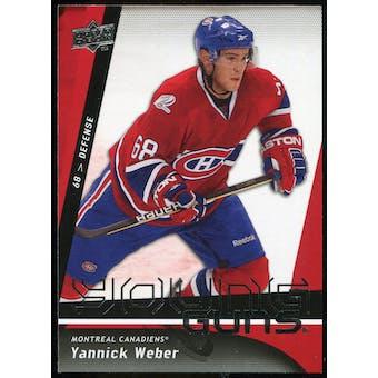 2009/10 Upper Deck #220 Yannick Weber YG RC