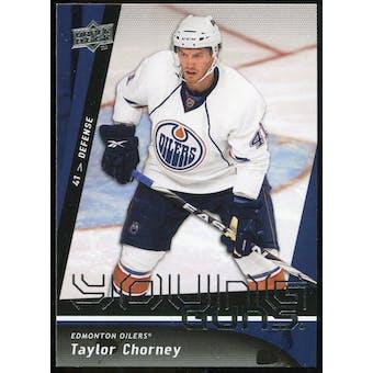 2009/10 Upper Deck #229 Taylor Chorney YG RC
