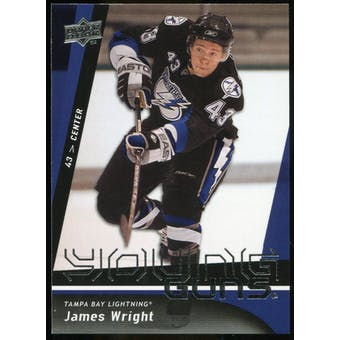 2009/10 Upper Deck #243 James Wright YG RC