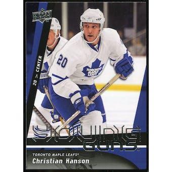 2009/10 Upper Deck #246 Christian Hanson YG RC