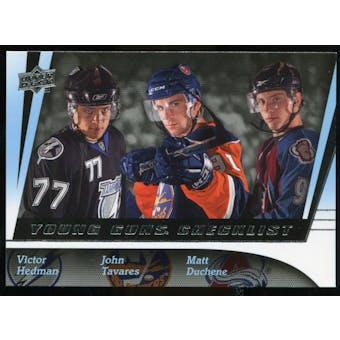 2009/10 Upper Deck #250 Matt Duchene/Victor Hedman/John Tavares