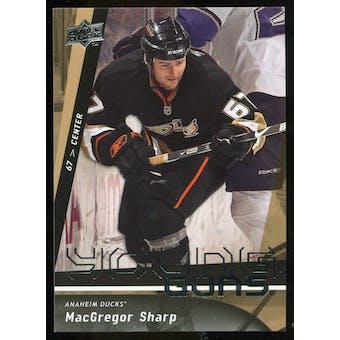 2009/10 Upper Deck #451 MacGregor Sharp YG RC