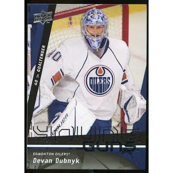 2009/10 Upper Deck #462 Devan Dubnyk YG RC