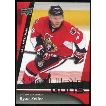 2009/10 Upper Deck #483 Ryan Keller YG RC