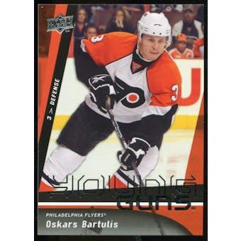 2009/10 Upper Deck #484 Oskars Bartulis YG RC