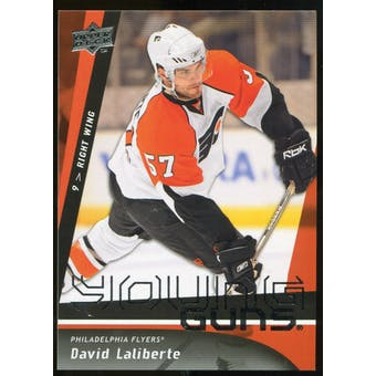 2009/10 Upper Deck #485 David Laliberte YG RC