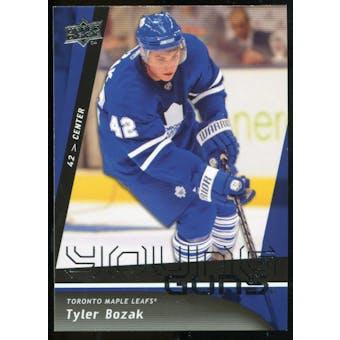 2009/10 Upper Deck #491 Tyler Bozak YG RC