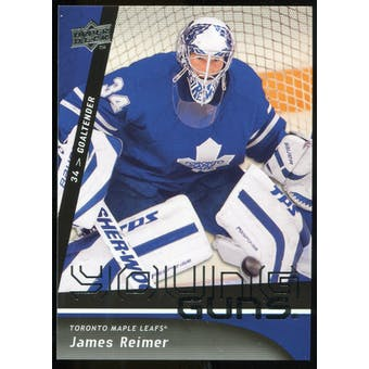 2009/10 Upper Deck #493 James Reimer YG RC