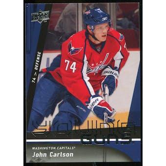 2009/10 Upper Deck #497 John Carlson YG RC
