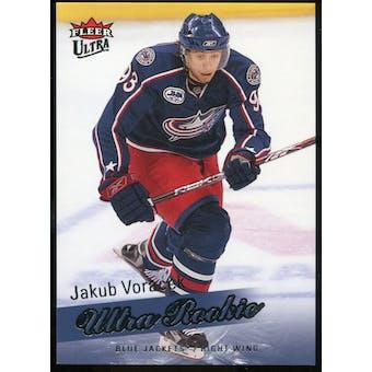 2008/09 Upper Deck Fleer Ultra #253 Jakub Voracek RC