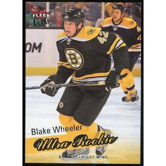 2008/09 Upper Deck Fleer Ultra #254 Blake Wheeler RC