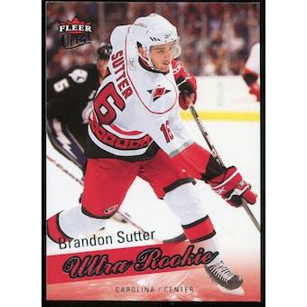 2008/09 Upper Deck Fleer Ultra #255 Brandon Sutter RC