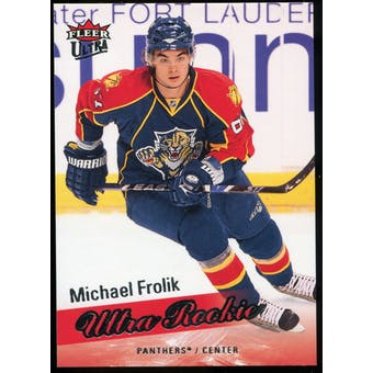 2008/09 Upper Deck Fleer Ultra #271 Michael Frolik RC