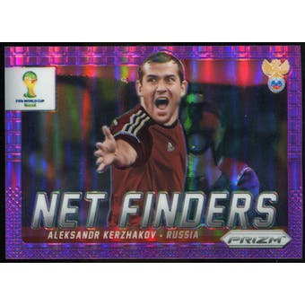 2014 Panini Prizm World Cup Net Finders Prizms Purple #21 Aleksandr Kerzhakov /99