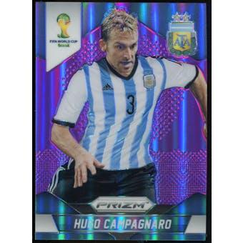 2014 Panini Prizm World Cup Prizms Purple #6 Hugo Campagnaro /99