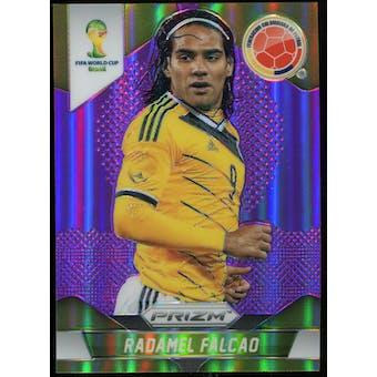 2014 Panini Prizm World Cup Prizms Purple #53 Radamel Falcao /99