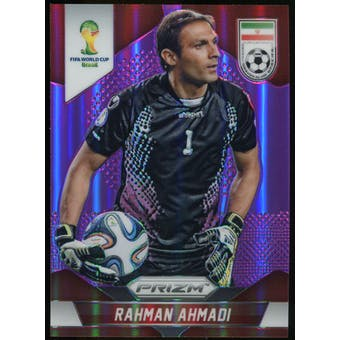 2014 Panini Prizm World Cup Prizms Purple #121 Rahman Ahmadi /99