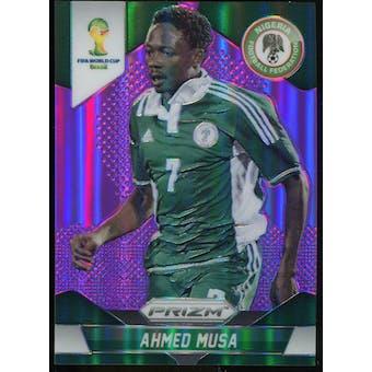 2014 Panini Prizm World Cup Prizms Purple #154 Ahmed Musa /99