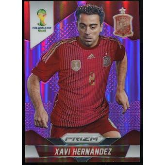 2014 Panini Prizm World Cup Prizms Purple #180 Xavi Hernandez /99