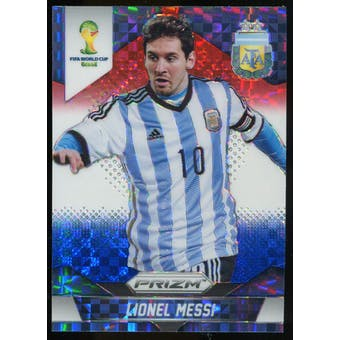 2014 Panini Prizm World Cup Prizms Red White and Blue #12 Lionel Messi