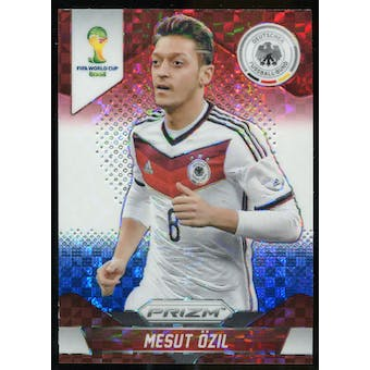 2014 Panini Prizm World Cup Prizms Red White and Blue #88 Mesut Ozil