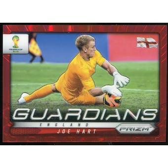 2014 Panini Prizm World Cup Guardians Prizms Red #10 Joe Hart /149
