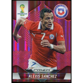 2014 Panini Prizm World Cup Prizms Red #45 Alexis Sanchez /149