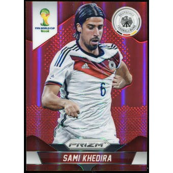 2014 Panini Prizm World Cup Prizms Red #87 Sami Khedira /149