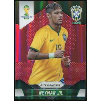 2014 Panini Prizm World Cup Prizms Red #112 Neymar /149