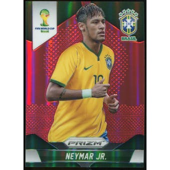 2014 Panini Prizm World Cup Prizms Red #112 Neymar /149