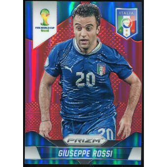 2014 Panini Prizm World Cup Prizms Red #131 Giuseppe Rossi /149