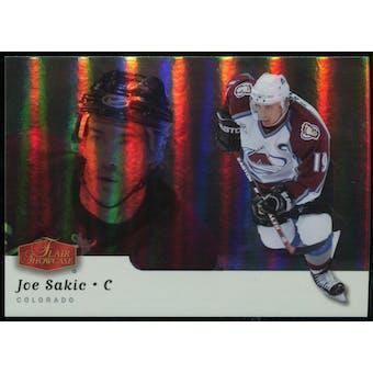 2006/07 Upper Deck Flair Showcase #277 Joe Sakic SP