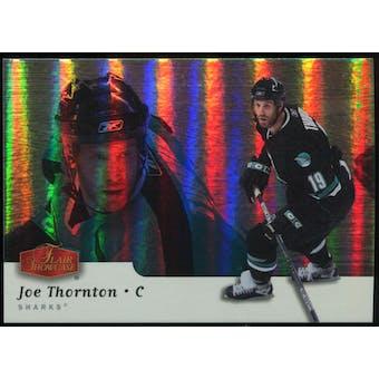 2006/07 Upper Deck Flair Showcase #295 Joe Thornton SP