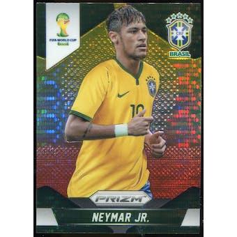 2014 Panini Prizm World Cup Prizms Yellow and Red Pulsar #112 Neymar