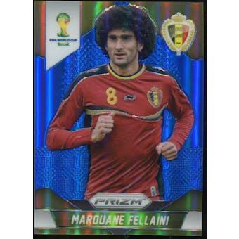 2014 Panini Prizm World Cup Prizms Blue #22 Marouane Fellaini /199