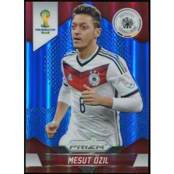 2014 Panini Prizm World Cup Prizms Blue #88 Mesut Ozil /199