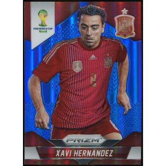 2014 Panini Prizm World Cup Prizms Blue #180 Xavi Hernandez /199