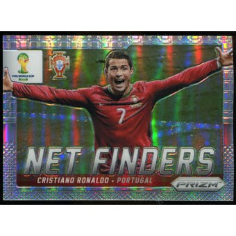 2014 Panini Prizm World Cup Net Finders Prizms #20 Cristiano Ronaldo