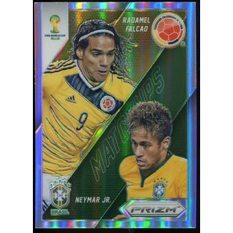 2014  Panini Prizm World Cup World Cup Matchups Prizms #20 Radamel Falcao/Neymar