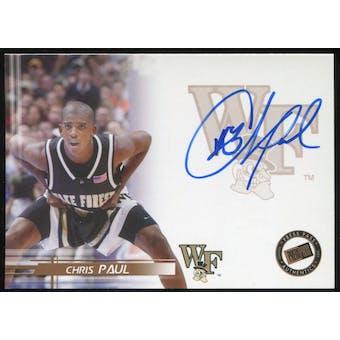 2005/06 Press Pass Autographs #CP Chris Paul Rookie Card!