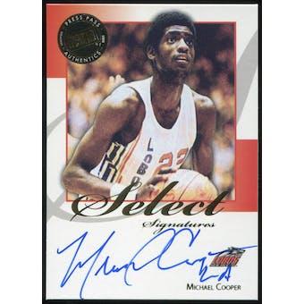 2008/09 Press Pass Legends Select Signatures #MC Michael Cooper Autograph