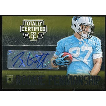 2014 Totally Certified Rookie Penmanship Gold Auto #RPTG Tyler Gaffney Serial #'d 10/10