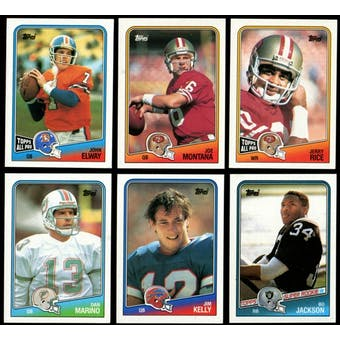 1988 Topps Football Complete Set (NM-MT)