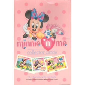 "Minnie ""N"" Me Hobby Box (1991 Impel) (Reed Buy)"