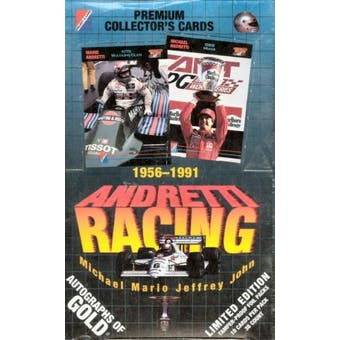 1992 Andretti Racing Wax Box
