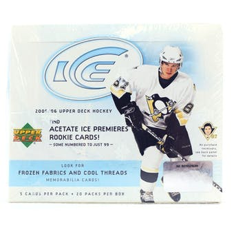 2005/06 Upper Deck Ice Hockey Hobby Box