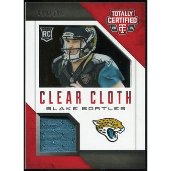 2014 Totally Certified Rookie Clear Cloth #RCCBB Blake Bortles Serial #90/100