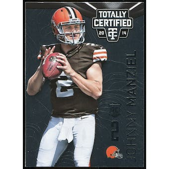 2014 Totally Certified #168 Johnny Manziel RC