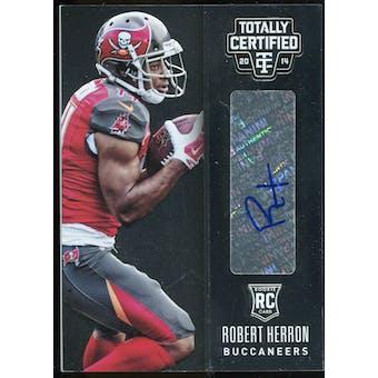 2014 Totally Certified Rookie Signatures #155 Robert Herron